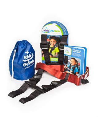 KFS Child Airplane Safety Harness_product package_contents